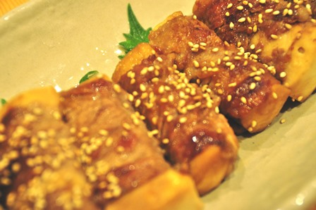 節約ダイエットレシピ 高野豆腐の肉巻き