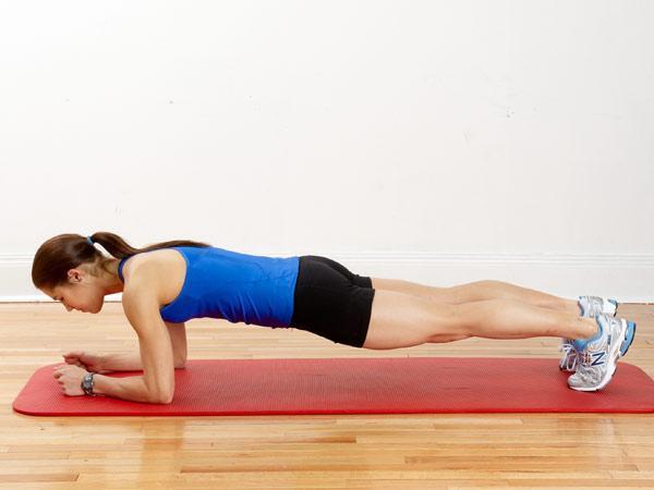 1日たった10秒!お腹に効く体幹トレーニング ダイエット