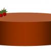 わーど絵 チョコレートケーキ
