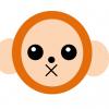 2016年年賀状にピッタリ!サルのわーど絵